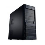 Gabinete Cooler Master 351, Midi-Tower, ATX/micro-ATX, USB 2.0/3.0, sin Fuente, Negro