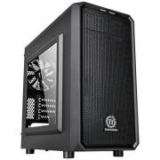 Thermaltake Versa H15 Case per PC Mini, con Finestrino, Nero