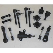 Front End Kit 15 Pcs. 2 Upper 2 Lower Ball Joint 2 Inner 2 Outer Tie Rod 2 Adjusting Sleeves 2 Stabilizer Links 1 Pitman 1 Idler Arm 1 Bracket Right and Left Side 2WD RWD vehicles only