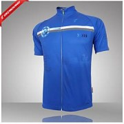 LightInTheBox Maillots Cyclisme Bouger Maillot de Cyclisme Homme Manches courtes Vélo Respirable / Séchage rapid