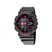 Casio Baby-G Analog-Digital Display Black Dial Black Resin Ladies Watch BA-111-1ACR Black