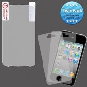 MYBAT Screen Protector Twin Pack for LG C900 Quantum - Retail Packaging - Clear