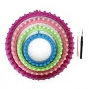 1 Set 4 Sizes Round Circle Hat Knitter Knitting Knit Loom Craft Kit