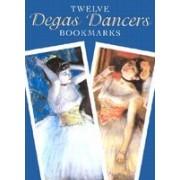 Twelve Degas Dancers Bookmarks [With Bkmk]