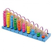 Children's Abacus Counting Toy - Portable Kids and Baby Fun for the Car Plane Restaurant and Hotel