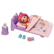 Zapf Creation, Set di bambola che va a dormire, modello Mini Chou Chou, con bambola Birdie Emely