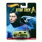 VOLKSWAGEN T1 PANEL BUS * Star Trek / LtCdr. Leonard Bones McCoy * Hot Wheels 2015 Pop Culture Star Trek 50th Anniversary Series Die-Cast Vehicle