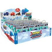 Jouceo TYE8823 Gacha Sonic Kart Rétrofriction Blister - vendu á l'unité - Modèle aléatoire