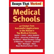 Essays That Worked for Medical SCH by Ballantine