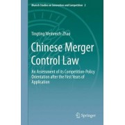 Chinese Merger Control Law by Tingting Weinreich-Zhao
