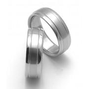 Snubní ocelové prsteny ZERO Collection rz17007+rz17007