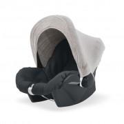 Jollein Solskydd för babyskydd stickad sand 545-001-65085