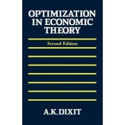 Optimization in Economic Theory by Avinash K. Dixit