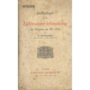 Anthologie De La Littérture Irlandaise Des Origines Au Xxè Siècle