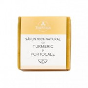 Sapun 100%natural cu Turmeric&Portocale 110g