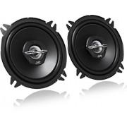 JVC CS-J520X Altavoces coaxiales para coche (30 W RMS, 40 22000 Hz, 5-1/4'', 2 vías), negro