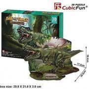 Cubic Fun Age of Dinos 3D Puzzle - Tyrannosaurus rex P668H-36pcs