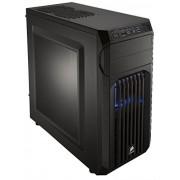Corsair CC-9011056-WW Case Essential Gaming, Mid Tower Atx Carbide Spec-01, con Finestra e Ventola Frontale a LED, Blu/Nero