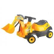 Vroom Rider Battery Operated 6V 4-Wheel Bulldozer Ride-On, Yellow