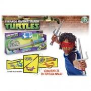 Tortugas Ninja - Playset Roleplay Ninja Combat, 1 unidad (Giochi Preziosi 93030)