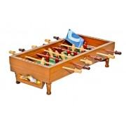 Juego mesa de futbolín pequeño en madera