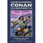 Chronicles Of Conan Volume 21: Blood Of The Titan And Other Stories by Michael Fleisher