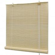 vidaXL Естествена бамбукова руло щора 120 х 160 см