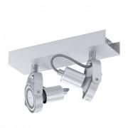 EGLO LED spot lamp Novorio 2L aluminium 94643