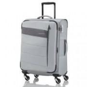 travelite Kite Trolley M 4w Silber