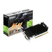 MSI GeForce GT 730 Kepler GDDR5 2GB OC Low Profile Ready DirectX 12 N730K-2GD5LP OC