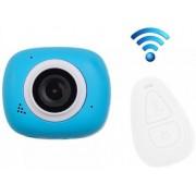 Camera Video Sport iUni Dare G3i, Filmare Full HD, 12MP, Waterproof, Wi-Fi (Albastru)
