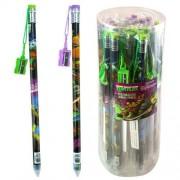 Teenage Mutant Ninja Turtles 2 Pack Jumbo Pencil With Pencil Sharpener