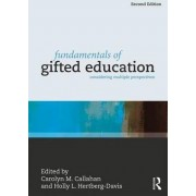 Fundamentals of Gifted Education by Carolyn M. Callahan