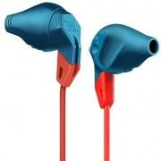 JBL Grip 100 - спортни слушалки за iPhone, iPod, iPad и мобилни устройства (син)
