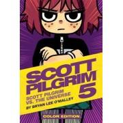 Scott Pilgrim Color Hardcover Volume 5: Scott Pilgrim Vs. The Universe by Bryan Lee O'Malley
