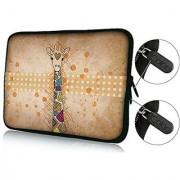 Brand NEW Fashion cute Giraffe Designe 13 13.3 inch Notebook Neoprene Soft Laptop Sleeve Case Bag Cover Pouch for Appl