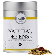 Teatox Natural Defense Organic Green Tea with Ginger Tee