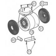 Kit de recirculare pentru hote Teka model DQ 90