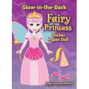 Glow-in-the-dark Fairy Princess Sticker Paper Doll by Diego Pereira