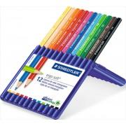 Lápices de Colores Triangulares Staedtler Ergosoft 12 Unidades