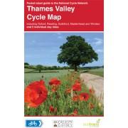 Fietskaart 10 Cycle Map Thames Valley   Sustrans