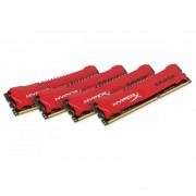 Kingston HyperX Savage 32GB Kit (4x8GB) 1600MHz DDR3 Non-ECC CL9 DIMM XMP (HX316C9SRK4/32)