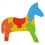 Skillofun Wooden Take Apart Puzzle Horse, Multi Color