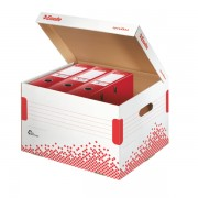 Container de arhivare pentru bibliorafturi ESSELTE Speedbox
