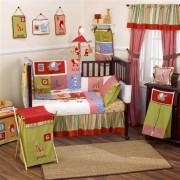Kids Line Alphabet Soup 10 Piece cotbed bedding set
