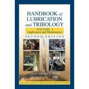 The Handbook of Lubrication and Tribology: Volume I by Edward Salek