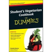 Student's Vegetarian Cookbook for Dummies by Connie Sarros