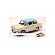 Welly WE0216 TRABANT 601 BEIGE/LIGHT BLUE 1:24 Modellino