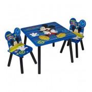 Tavolo Con Sedie In Legno Mickey Mouse