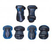 Štitnici Globber Junior set plava XS, 180246